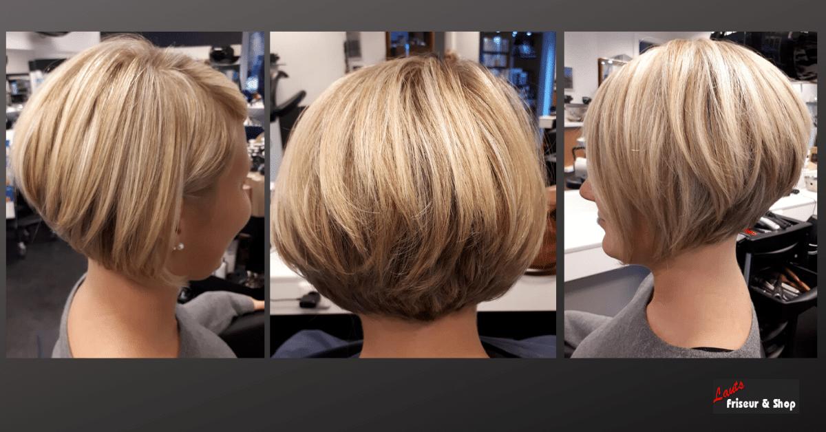 Friseur Bob mit blonden Strähnen | Lauts Friseur und Shop Stade