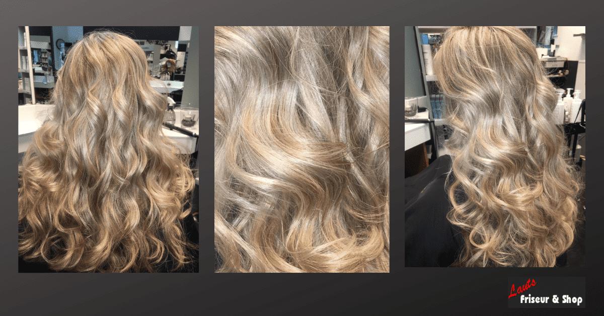 Damenhaarschnitt tolle blonde Mähne von Lauts Friseur und Shop in Stade