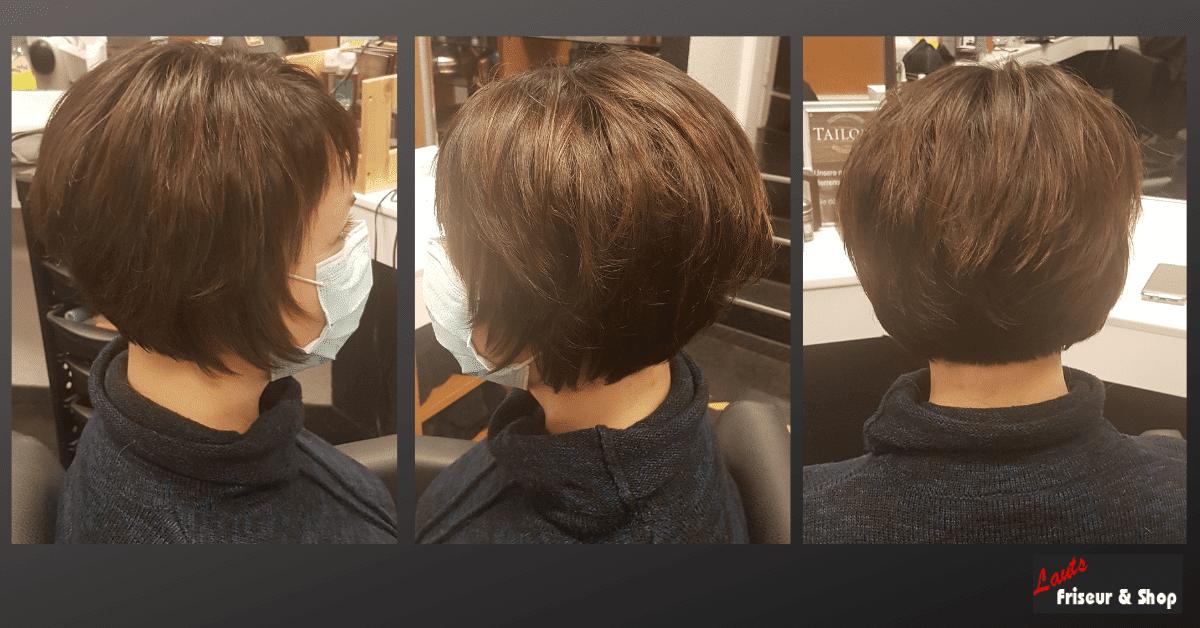 Dunkler Damenbob von Lauts Friseur und Shop in Stade